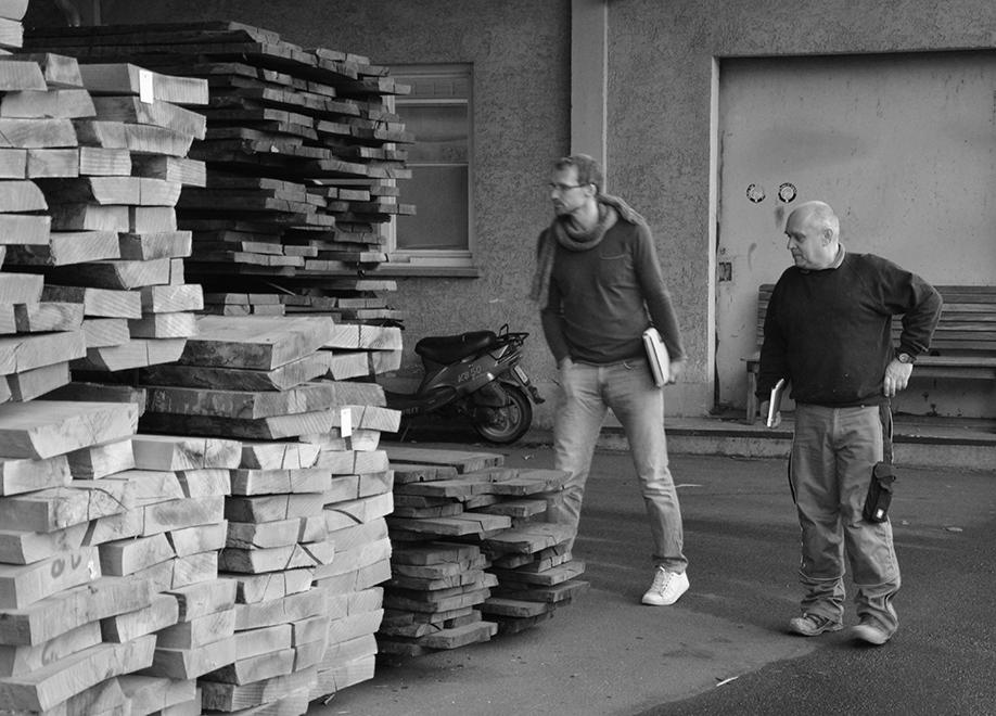 nachhaltiges Holz für Ellenberger Design Möbel